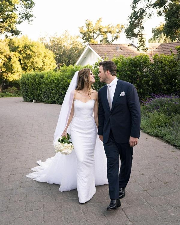 Tấm ảnh duy nhất được vợ chồng Chris Pratt chia sẻ trên trang cá nhân.