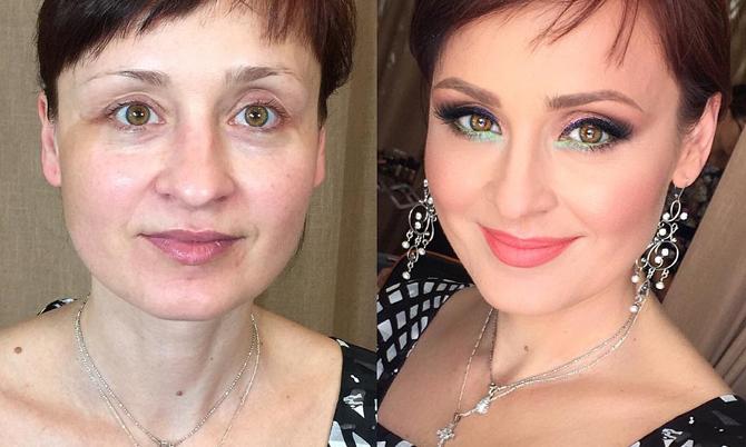10 ca 'lột xác' cho thấy makeup quan trọng với phụ nữ đến nhường nào