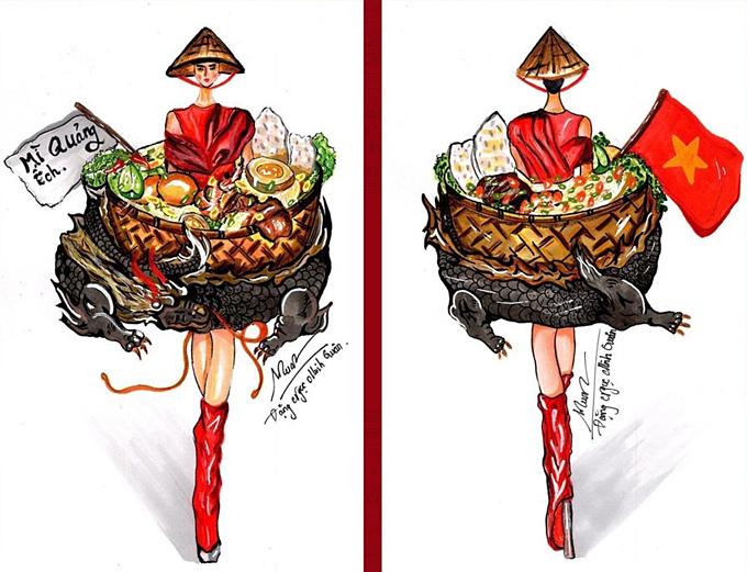 Sau Bánh mì của HHen Niê năm 2018, đề tài ẩm thực được nhiều thí sinh ưa chuộng.