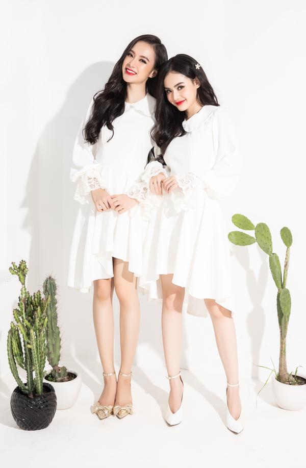 Sau một thời gian dài tham gia các khóa tu thiền và nhiều hoạt động từ thiện, Angela Phương Trinh trở lại showbiz Việt với vai trò người mẫu ảnh cho bộ sưu tập của em gái cô.