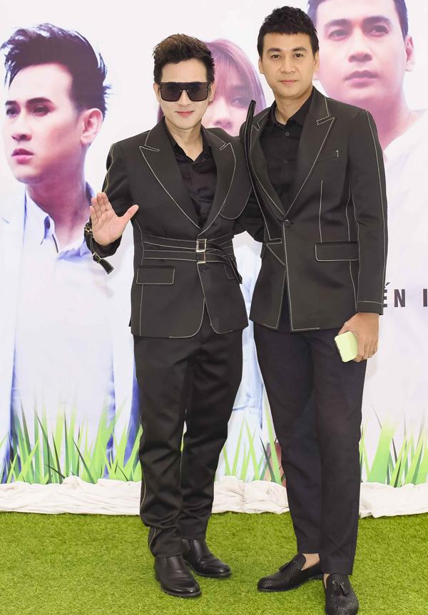 Diễn viên Ngọc Thuận đóng vai tình địch của Nguyên Vũ trong MV.