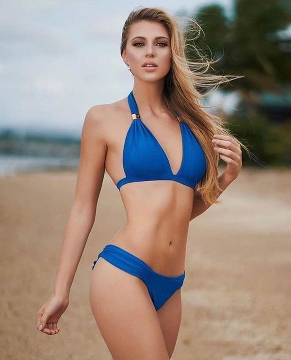 Vẻ đẹp hình thể nóng bỏng của Tân hoa hậu. Ngay từ đầu tham gia cuộc thi, Madison được đánh giá là ứng viên tiềm năng.