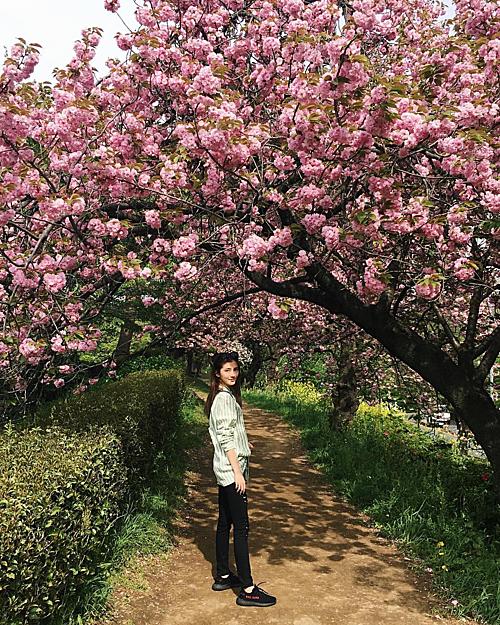 Ngô Thiên Ngữ bắt đầu mối quan hệ với Lâm Phong khi tới 18 tuổi. Cô từng bị lên án là cô gáiđào mỏ hay cô gái vật chất vìtài tử TVB rất cưng chiều bạn gái, mùa nào thức ấy, đưa cô đi ngắm hoa, trượt tuyết và mua sắm.