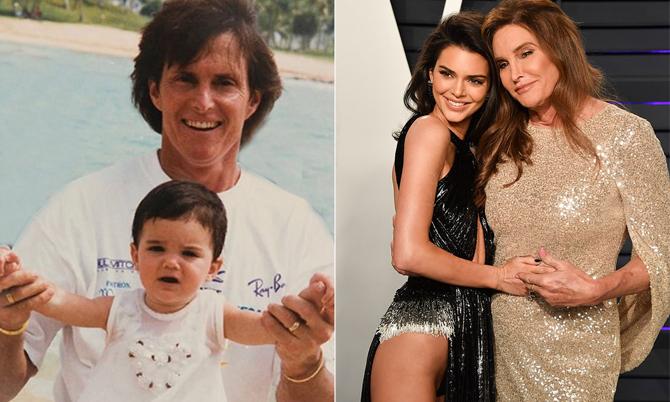 Kendall Jenner khoe ảnh thời bé bên bố, tri ân Ngày của cha