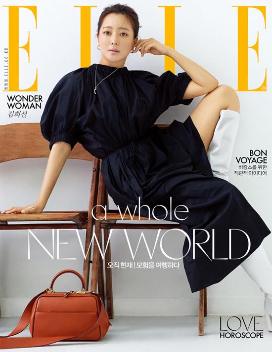 Trò chuyện với tờ Elle, Kim Hee Sun tiết lộ cô luôn hài lòng vì những nỗ lực của mình trong suốt những năm đôi mươi và 30, và nhờ thế, sau thời gian ở ẩn để kết hôn, sinh con, khi trở lại, cô vẫn có thể làm tốt công việc của mình với vai trò diễn viên.