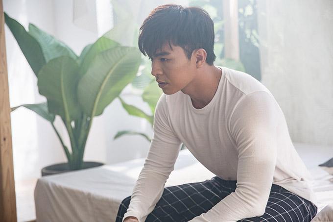 Gương mặt mới của làng điện ảnh - diễn viên trẻ Steven Nguyễn diễn cặp cùng Mai Ngô.