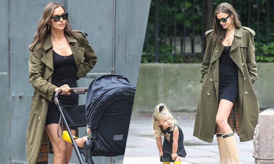 Irina Shayk mặc quyến rũ hơn sau khi chia tay Bradley Cooper