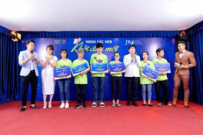 Kết thúc chương trình, ngoài top 3 thí sinh được hỗ trợ miễn phí, Bệnh viện Thẩm mỹ JW Hàn Quốc trao cơ hội cho tất cả các thí sinh tham dự  đều được hỗ trợ với  các mức chi phí hấp dẫn.