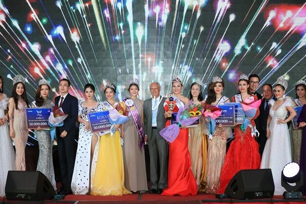 Phạm Huệ Đan đăng quang Hoa hậu Doanh nhân hoàn cầu 2019