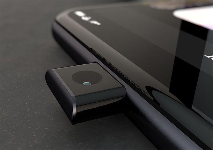 Camera Pop-up (bật lên) làm chúng ta liên tưởng đến Vivo Nex S. Mặc dù vòng đèn LED bao quanh hệ thống 4 camera ở phiên bản màu trắng khá đẹp, nhưng không được đẹp mắt đối với phiên bản màu đen. Ít nhất chúng ta sẽ có được một khu vực cực kỳ sáng bóng ở mặt sau của điện thoại, giống như những điện thoại chơi game được chiếu sáng bằng đèn LED.