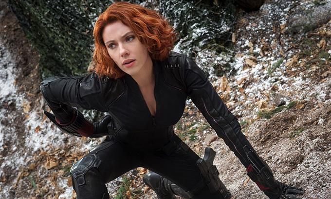 Scarlett Johansson đóng Black Widow trong gần 10 năm qua.