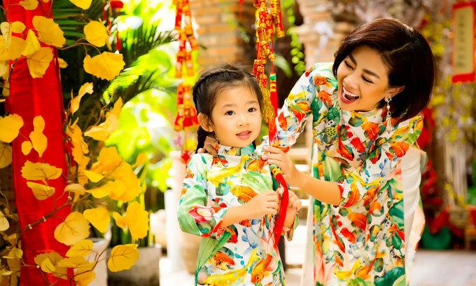 Diễn viên Mai Phương hiện làm mẹ đơn thân. Con gái cô tên Lavie, hiện lên 5 tuổi.