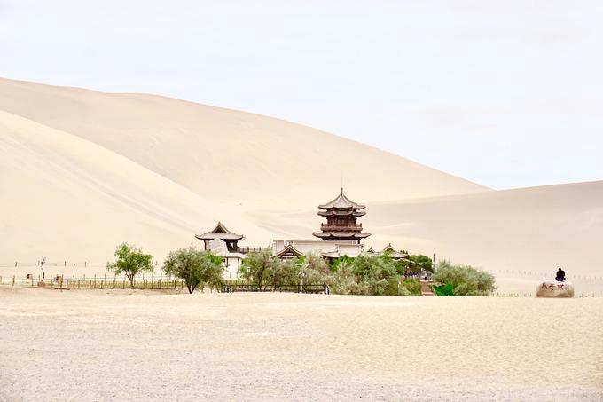 Đôn Hoàng - ốc đảo cô đơn giữa sa mạc ở Trung Quốc