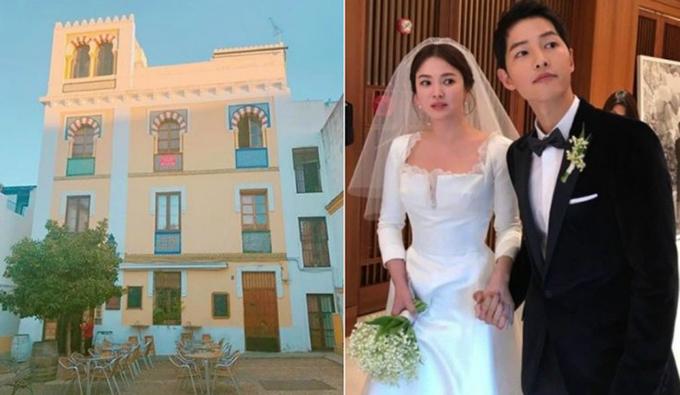 Những địa điểm du lịch lưu dấu tình yêu của Song - Song trước khi ly hôn - 5