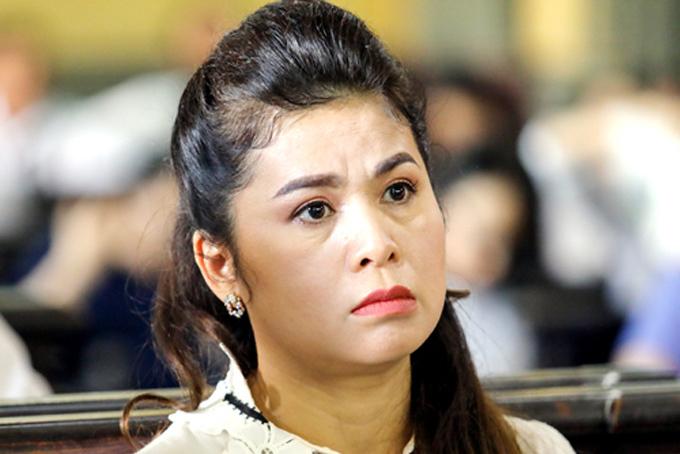 Bà Lê Hoàng Diệp Thảo tại phiên tòa ly hôn hồi tháng 3. Ảnh: Thành Nguyễn.