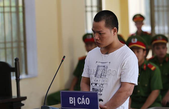 Bị cáo Nguyễn Trọng Nhân. Ảnh: Sơn Thủy.
