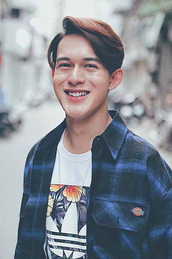 Diễn viên Quang Anh.