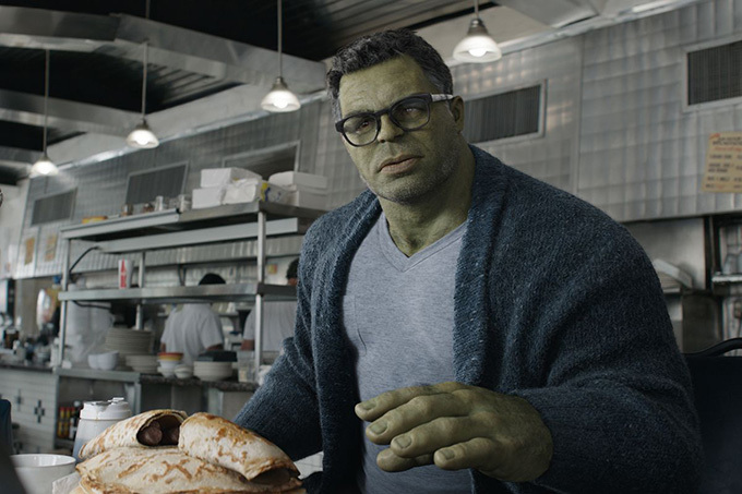 Hulk là nhân vật duy nhất được thêm cảnh trong bản tái phát hành của Avengers: Endgame.