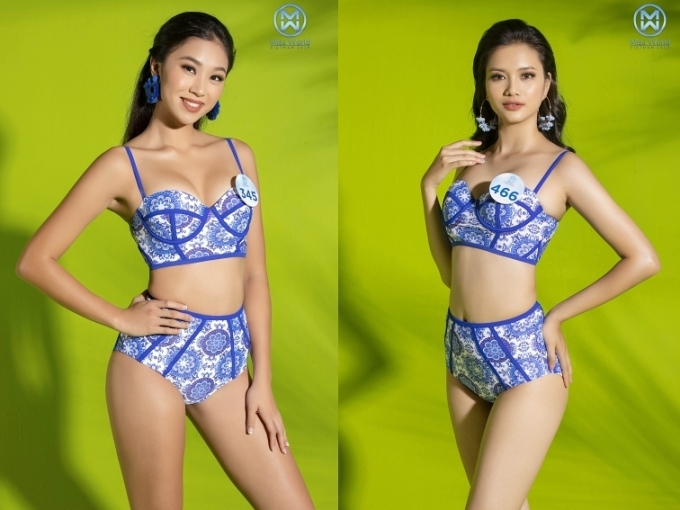Thí sinh miền Bắc Hoa hậu Thế giới VN diện bikini khoe dáng (2) - 5