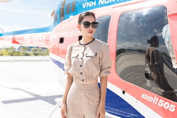 Đỗ Mỹ Linh đi chơi trực thăng sau ồn ào tình ái với thiếu gia - 4