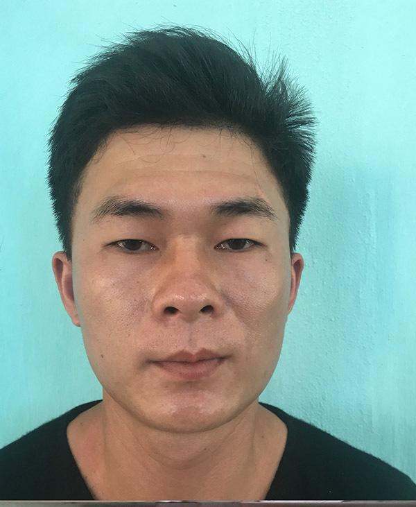 Nguyễn Trường Sơn tại cơ quan điều tra. Ảnh: Đại Hiệp.