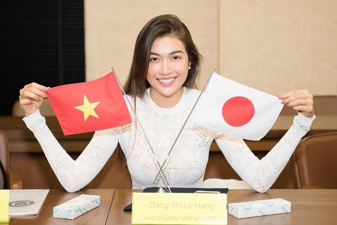 Á hậu Lệ Hằng ăn cơm ký túc xá tại Nhật - 5