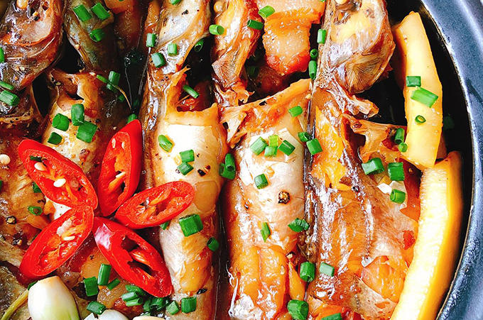 Cá lăng kho nước dừa - 1