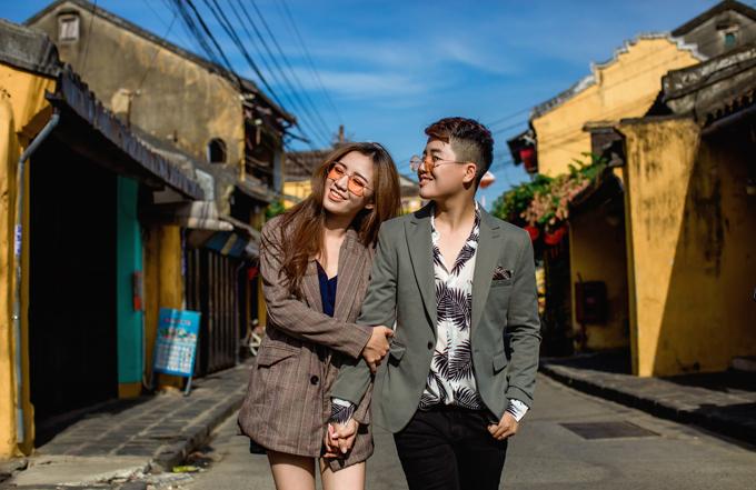 Từ trước khi gặp Tú Tri, Yun Bin đã mong ước được lưu giữ khoảnh khắc hạnh phúc tại Hội An (quê của anh), Đà Nẵng và Bà Nà.