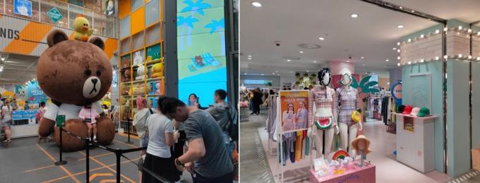 Dạo quanh tổ hợp mua sắm của tập đoàn Lotte trên đường Namdaemun gồm Lotte Young Plaza, Lotte Department Store và Lotte Duty Free, du khách dễ dàng chứng kiến những bạn trẻ mỗi tay cầm vài túi xách mỹ phẩm, quần áo, trang sức... Những buổi dạo phố kèm shopping có thể kéo dài đến tận 23h vì hàng quán vẫn còn mở.