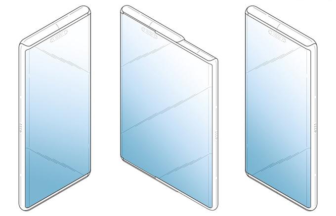 Lộ bằng sáng chế smartphone màn hình co giãn của Samsung