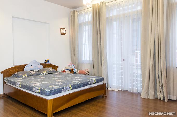 Toàn bộ không gian tầng 2 dành cho phòng ngủ