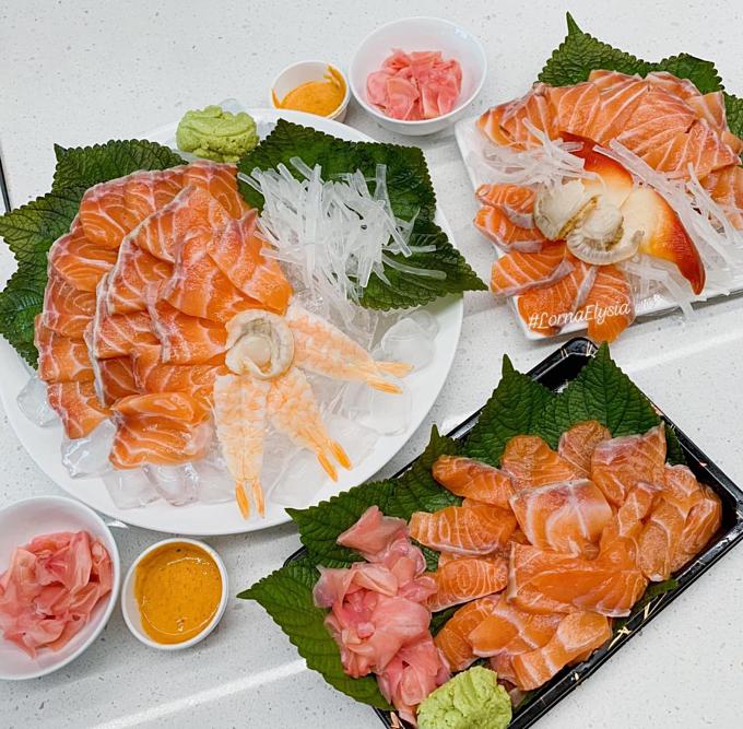 Thực phẩm tươi ngon và cân bằng vị là hai yêu cầu quan trọng hàng đầu với Phương trong nấu nướng.