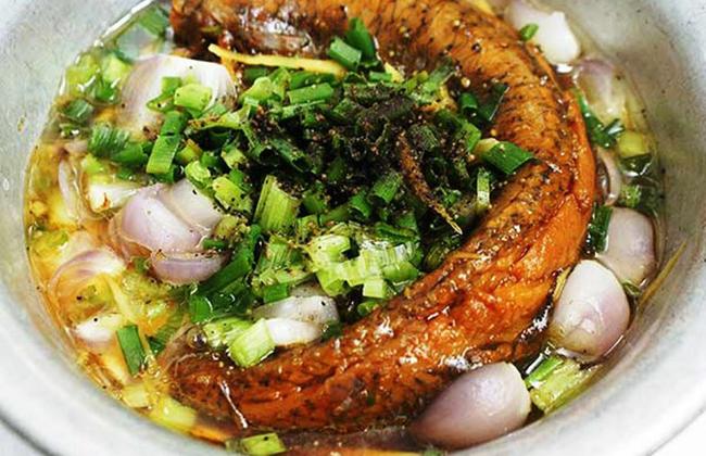 Mắm cá lóc chưng nước cốt dừa