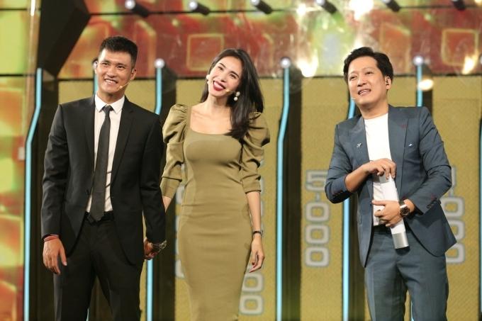 MC Trường Giang đảm nhận dẫn dắt chương trình.