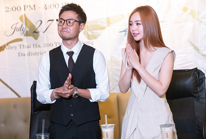 Chương trình còn có sự tham gia của diễn viên Thanh Sơnvà Quỳnh Kool là bạn diễn của Lan Phương.
