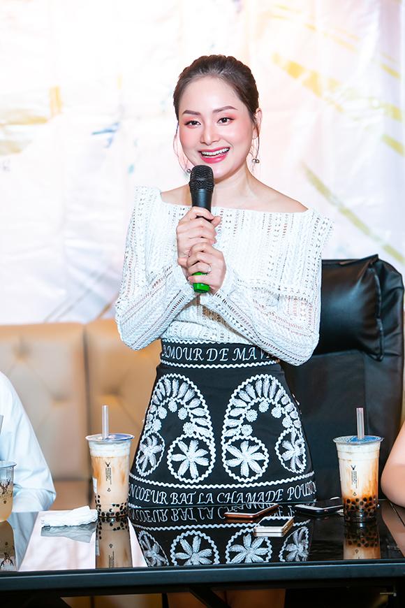 Nữ diễn viên cảm thấy rất hạnh phúc vì vai diễn của mình trong Nàng dâu order được nhiều người yêu thích. Trước đó, cô Bắc tiến thành công với 2 phần của bộ phim Cả một đời ân oán. Năm 2018, cô còn được giải Ngôi sao phim ảnh của năm do báo Ngoisao.net tổ chức.