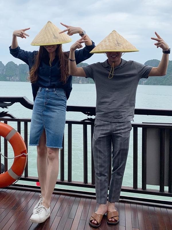 Gu thời trang đồng điệu của vợ chồng Cường Đôla - Đàm Thu Trang - 7