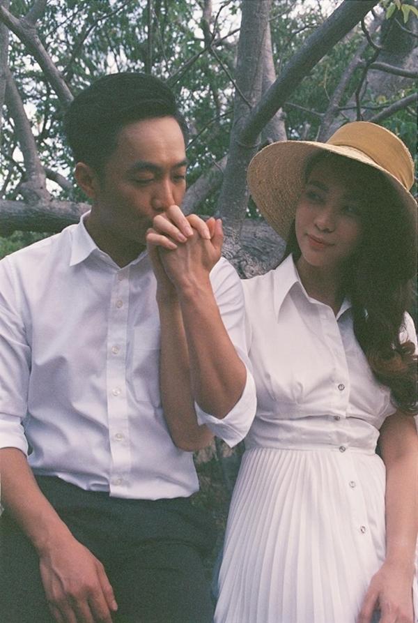 Gu thời trang đồng điệu của vợ chồng Cường Đôla - Đàm Thu Trang