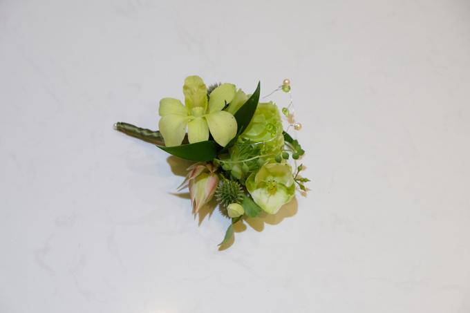 2 bó hoa cưới, 2 hoa cài áo của Đàm Thu Trang - Cường Đôla - 17