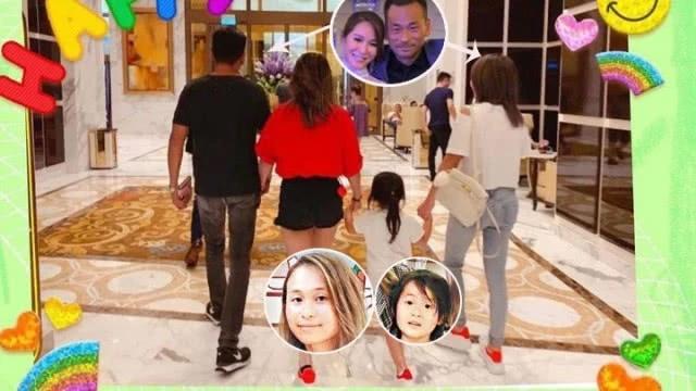 Gia đình Alvin Chau gương vỡ lại lành.