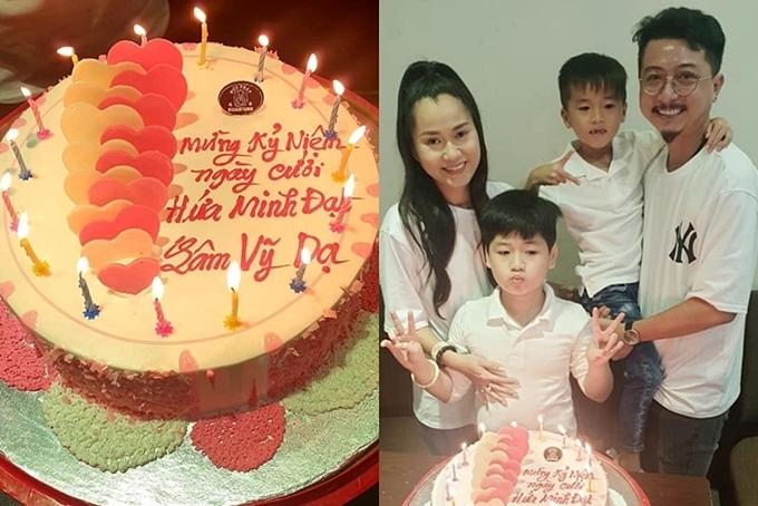 Cuộc sống của gia đình Lâm Vỹ Dạ - Hứa Minh Đạt sau 9 năm kết hôn