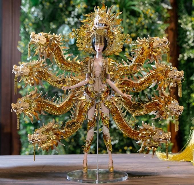 Thiết kế Vùng đất chín rồng của thí sinh Hoàng Hữu Kha được đánh giá cao từ vòng dự thi online.