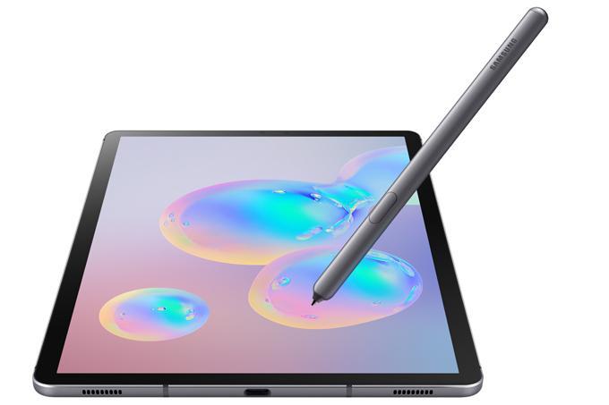 Galaxy Tab S6 hỗ trợ S Pen, cấu hình mạnh