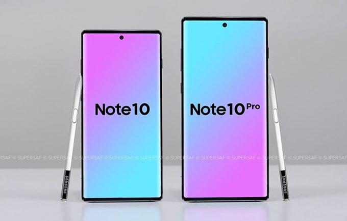 Những điểm mới được chờ đợi trên Galaxy Note 10