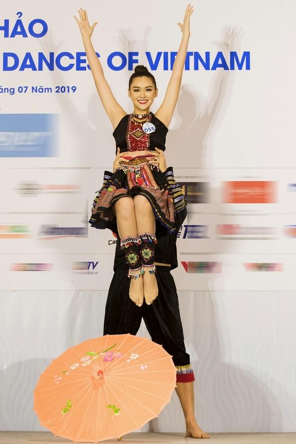 Thành tích nổi bật ở vòng chung kết của Tường San có thể kể đến: Top 3 Người đẹp Thời trang, Top 5 Tài năng.