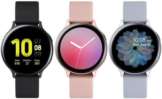 Galaxy Watch Active 2 lộ diện rõ nét