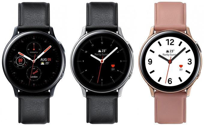 Galaxy Watch Active 2 lộ diện rõ nét - 1