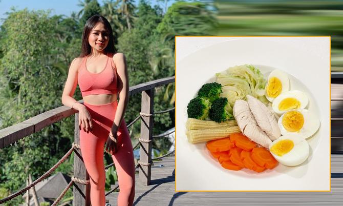 Học lỏm thực đơn giảm 15 kg của nàng béo Thái Lan