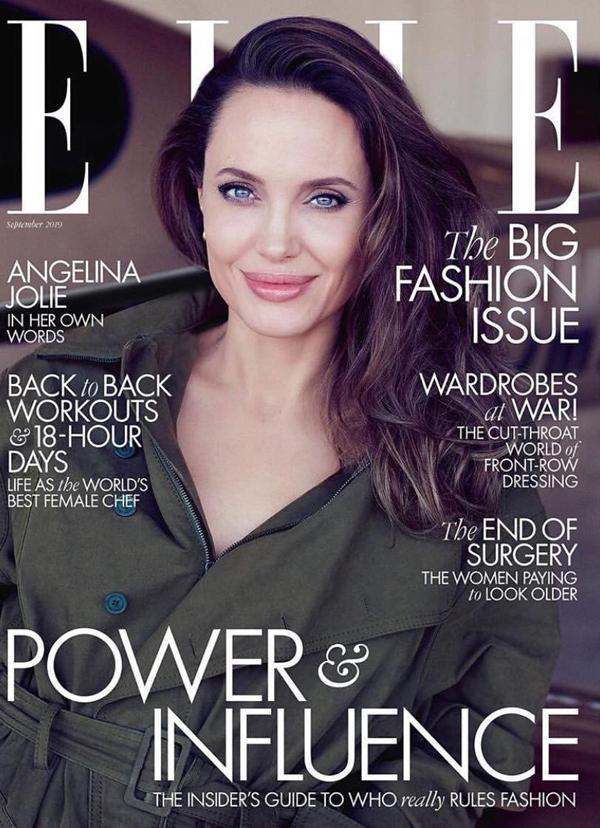 Angelina Jolie khoe nhan sắc ở tuổi 44 - 7