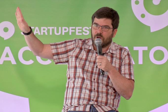 David Brown, nhà sáng lập và đồng CEO của Techstars. Ảnh: Techup.